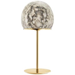 Tartufo Large Lamp Alabaster and Gold - In Stock