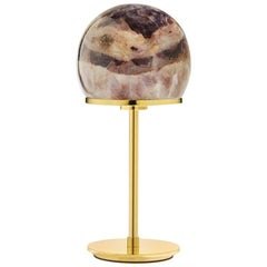 Tartufo Small Lamp Amethyst and Gold - In Stock