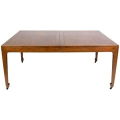 Asian Influenced Dining Table by Michael Taylor for Baker Seats 6-12