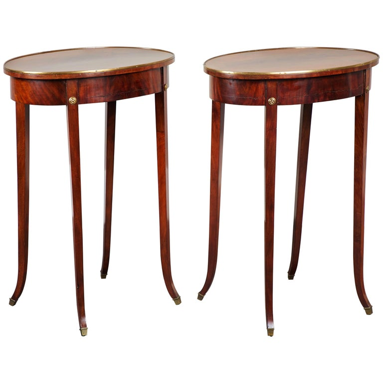 Pair of Early 19th Century Swedish Gustavian Side Tables