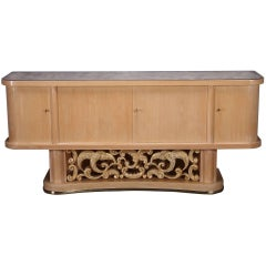 1950s Sycamore Sideboard
