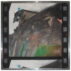 Tempera on Canvas by 1973 Artist Italian Emanuele Diliberto