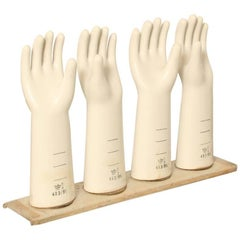 Porcelain Latex Glove Mold S White