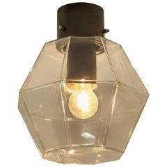 1 of 16 Limburg Geometric Glass Outdoor/Indoor Flush Mount Lights, 1970