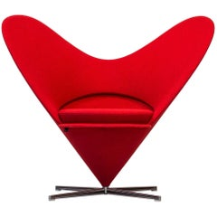 """Heart Cone"" Chair by Verner Panton for Vitra"