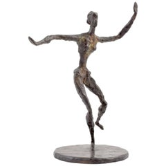 Chaim Gross Bronze Figural Sculpture