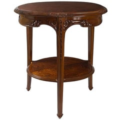 French Art Nouveau Table by Louis Majorelle