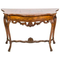 18th Century Italian Walnut Console Table