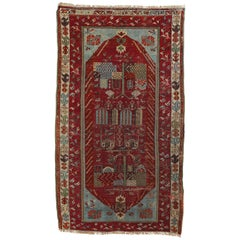 Antique Anatolian Village Rug