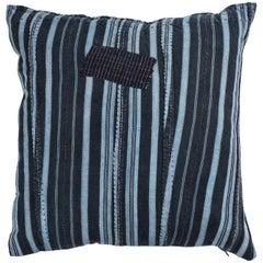 West African Indigo Pillow