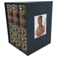 """""""Indian Tribes of North America"""" by McKenney & Hall, 3-Volumes, circa 1934"""