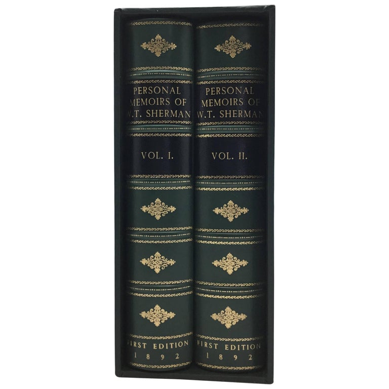 Personal Memiors of William T. Sherman, 2-Volumes, circa 1892