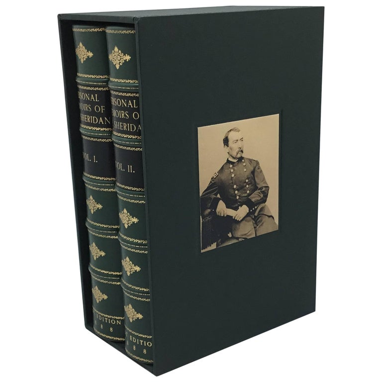 Personal Memiors of P. H. Sheridan, 2-Volumes, First Edition Set, circa 1888