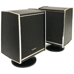 Pair of Space Age Panasonic Speakers from Klassik