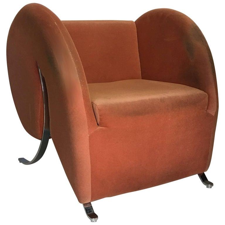 Virgola Lounge Chair by Arflex, Italy