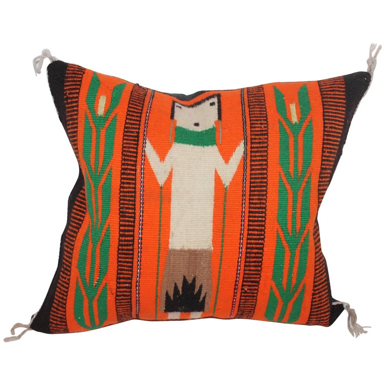 Yei Indian Weaving Pillow