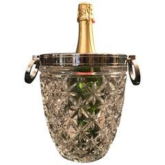 Stunning Cut Crystal Champagne Bucket