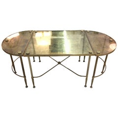 Glamorous Vintage Oblong Gilded Coffee Table