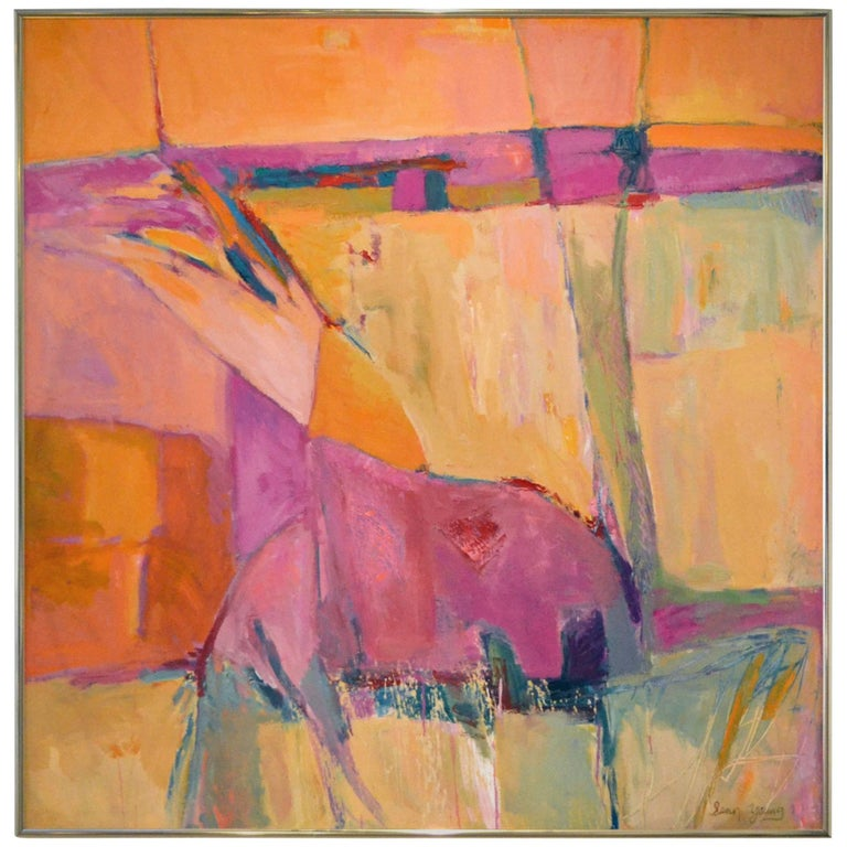 Abstract Expressionist Titled Landscape Series - Spain No. 1 by Sean Young 1