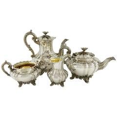 English Coffee Tea Service, London, 1836
