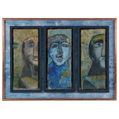 Painting of Three Heads