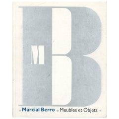 Marcial Berro Meubles et Objets Book