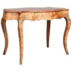 19th Century Walnut Center Table