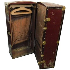 19th Century Wardrobe Steamer Trunk