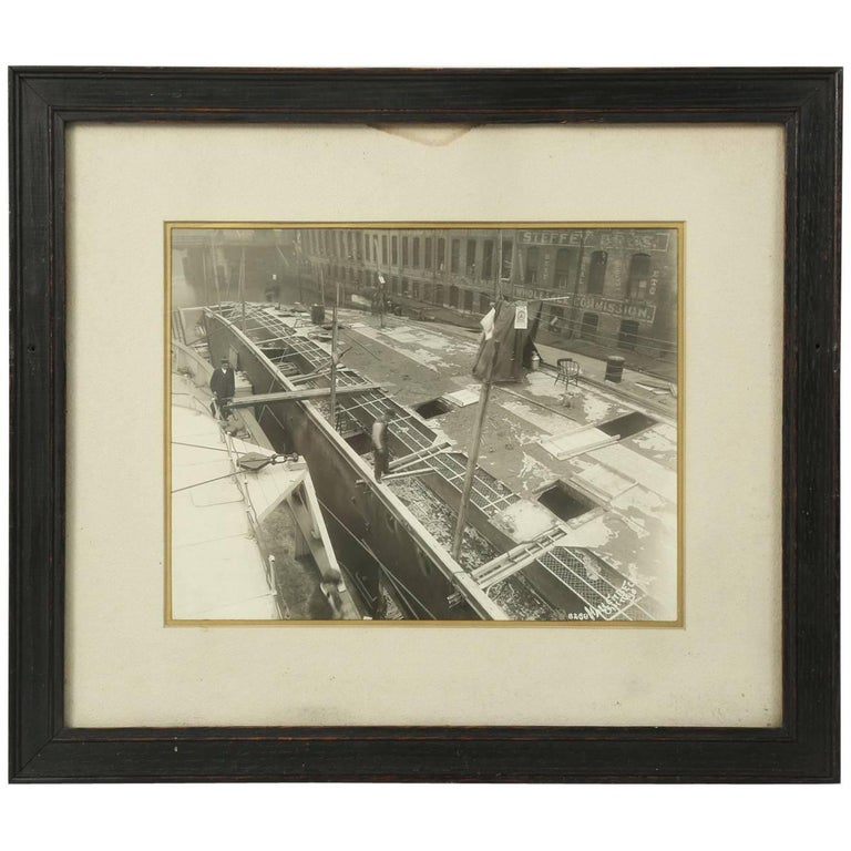 1915 Eastland Disaster in the Chicago River, Original Photograph