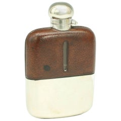 Silver Plated Hip Flask