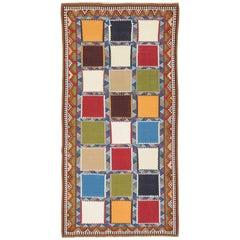 Vintage Gashgai Kilim in Wonderful Colors