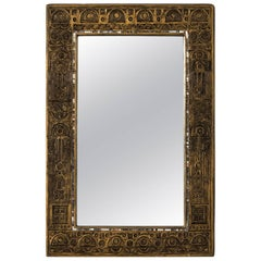Modern Framed Mirror