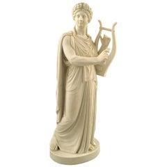 Rare and Large Antique B&G / Bing & Grondahl Bisque Apollon Figure