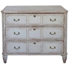 Unusual Swedish Three-Drawer Chest