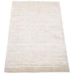 Solid Modern Bamboo Silk Rug
