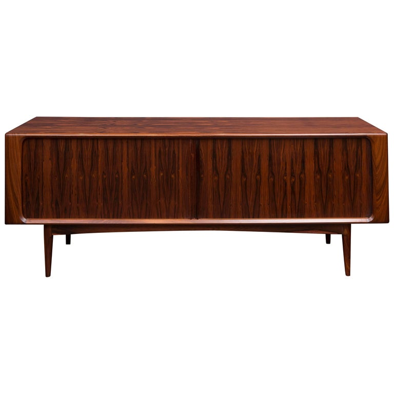 Danish Rosewood Credenza For Sale