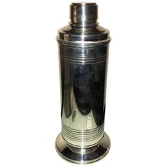 English Art Deco Cocktail Shaker, 1930s