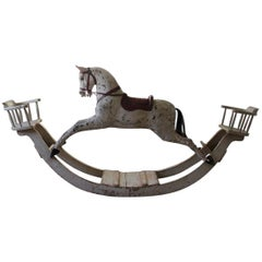 Late 19th Century English Rocking Horse