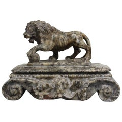 19th Century 'Grand Tour' Marble Lion