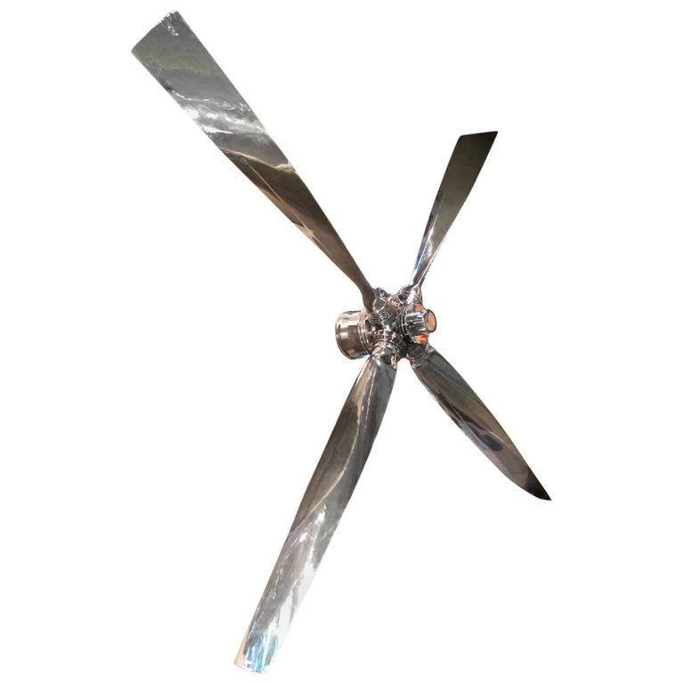 Four Blade Propeller Aviation Furniture by Jean-Pierre Carpentier AVIATIONSPIRIT