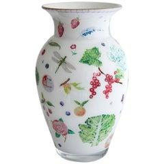 Cathy Graham Decoupage Classic Style Vase