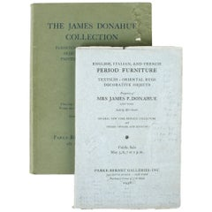 Two Auction Catalogues for the Property of James P. Donahue