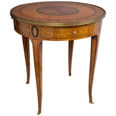French, 18th Century Gueridon Table