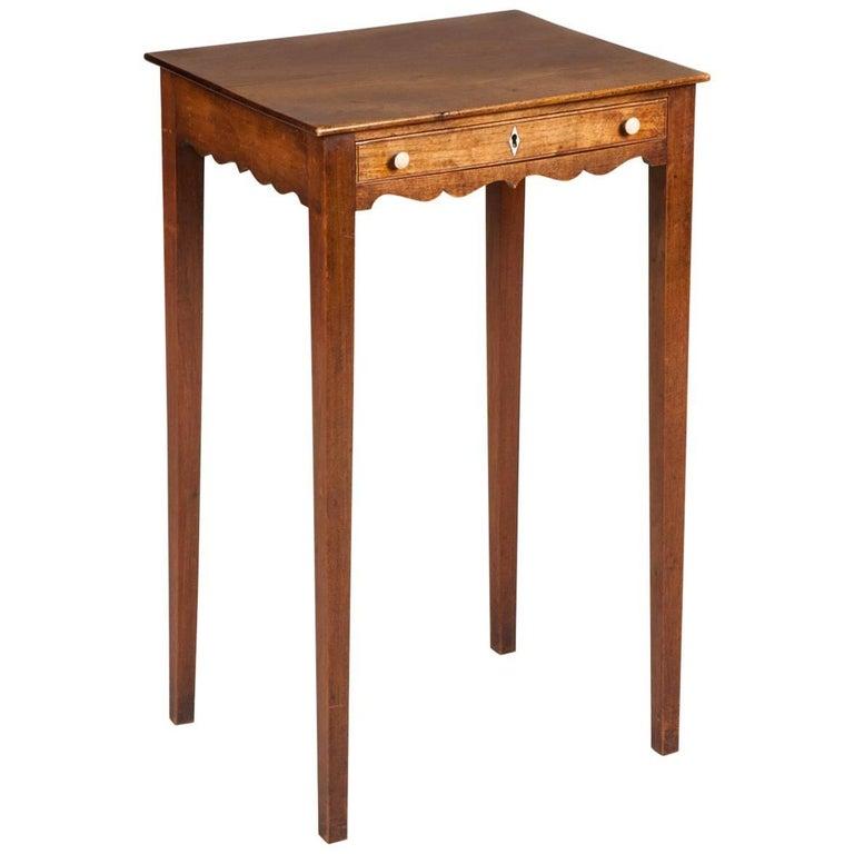 Regency Fruitwood Lamp Table