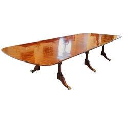 Regency Mahogany 14+ Seat Extending Dining Table
