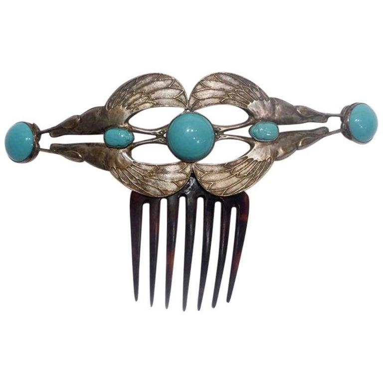 Piel Frères, an Art Nouveau Comb 1