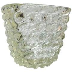 Seguso, Vase Murano Glass, 1940