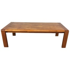 Teak Patchwork Coffee Table