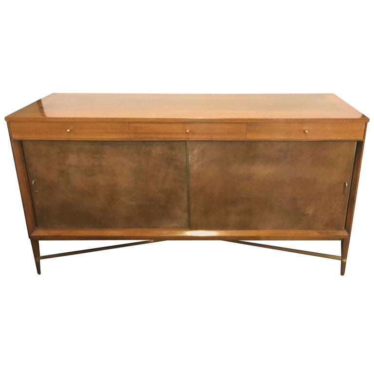 Mid-Century Modern Paul McCobb for Calvin Credenza Original Tags Polished