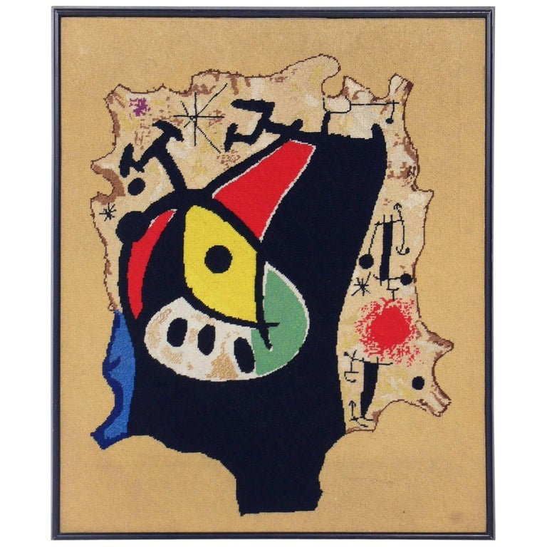After Joan Miró Tapestry
